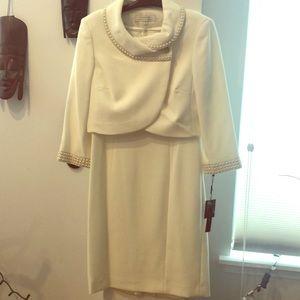 Brand New - Tahari 2-pc White Suit